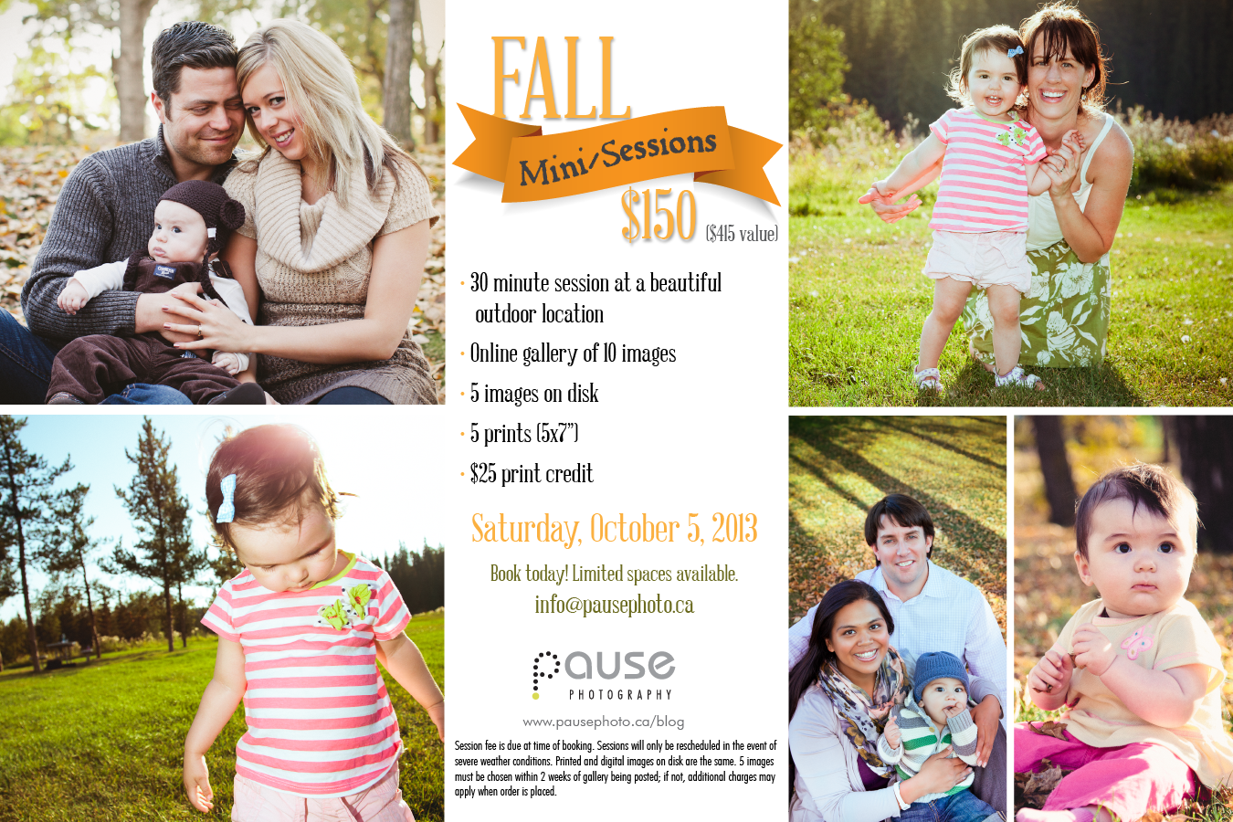 2013 Fall Mini Sessions