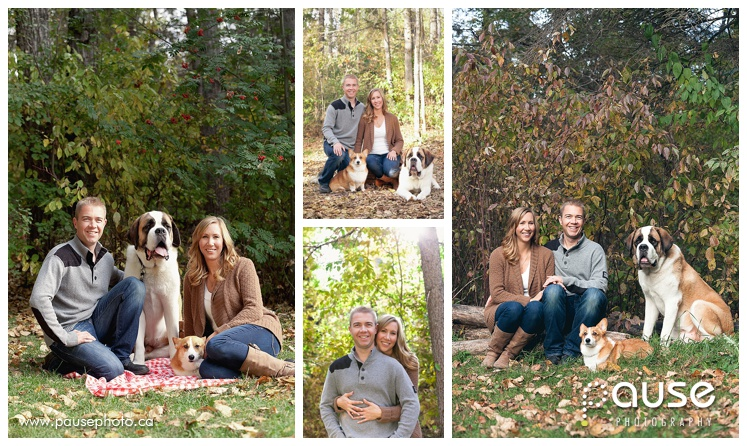 Edmonton Family Portraits in the River Valley