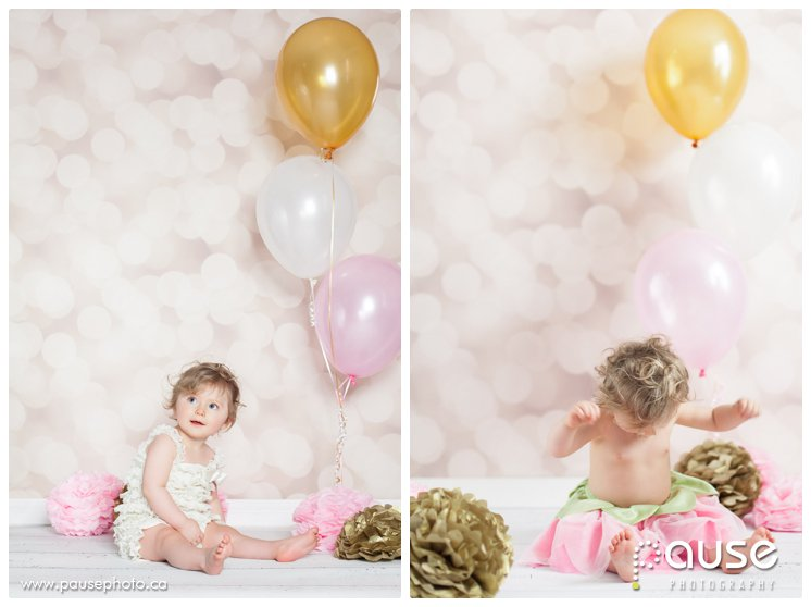 Baby's First Birthday Portrait Session