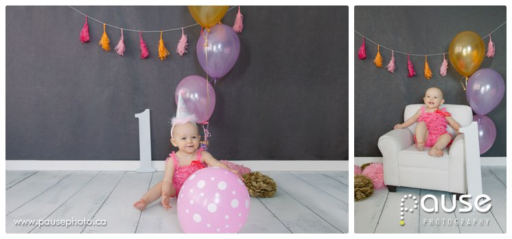 Edmonton Baby Photographer for First Birthday Pictures