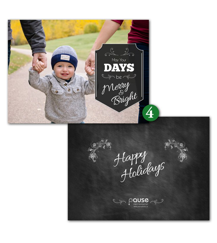 Pause Photography 2015 Holiday Cards 4