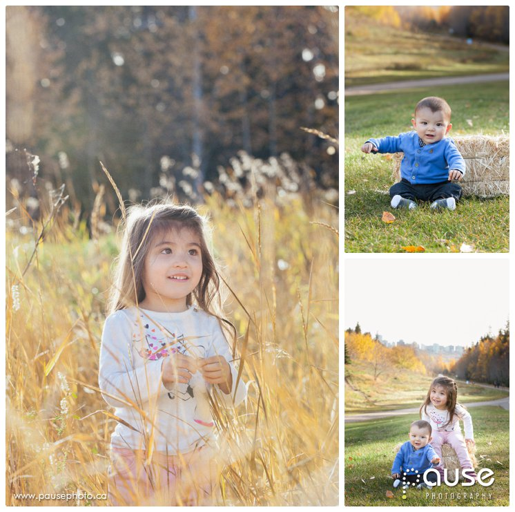 Portraits of Children in the Edmonton River Valley
