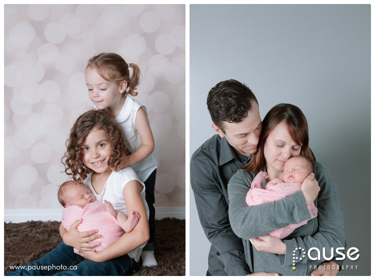 Edmonton Newborn Photographer, Newborn with Siblings