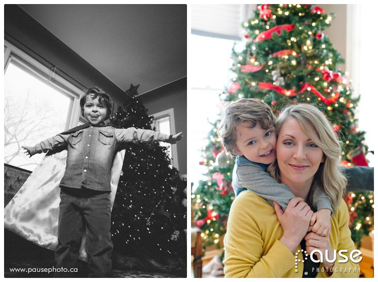 Edmonton Lifestyle Documentary Family Photographer for Christmas Holidays