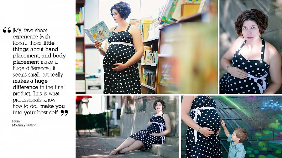 Edmonton maternity photographer words of praise for Pause Photography. Best belly photographer in Edmonton.