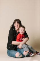 Mother and Son portrait, YEG photographer Pause Photography