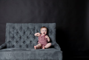 Baby Steps Milestones Portrait Sessions by Pause Photography