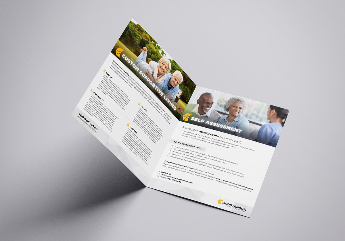 Brochure Design for Christenson Health Services