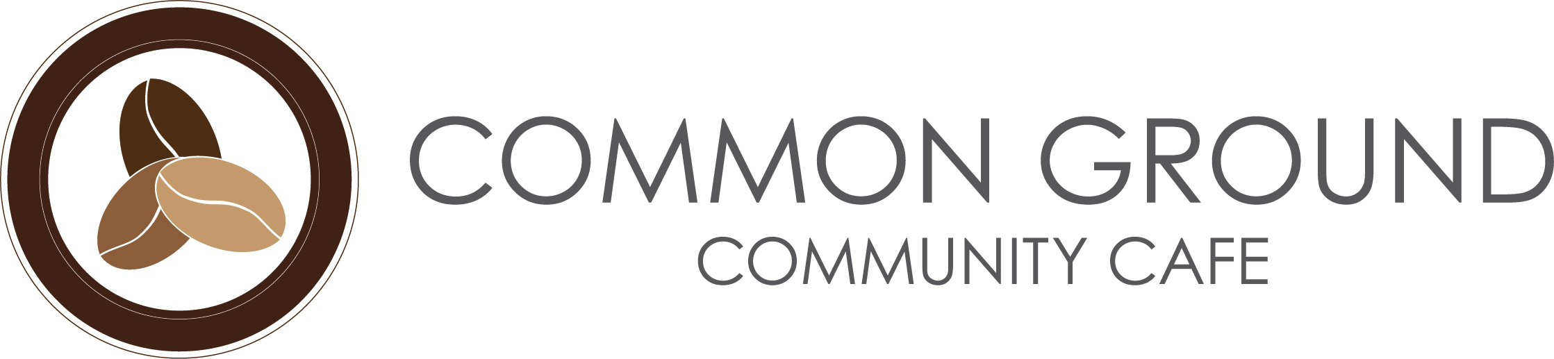 Logo Design for Sherwood Park Coffee Shop Common Ground Community Cafe