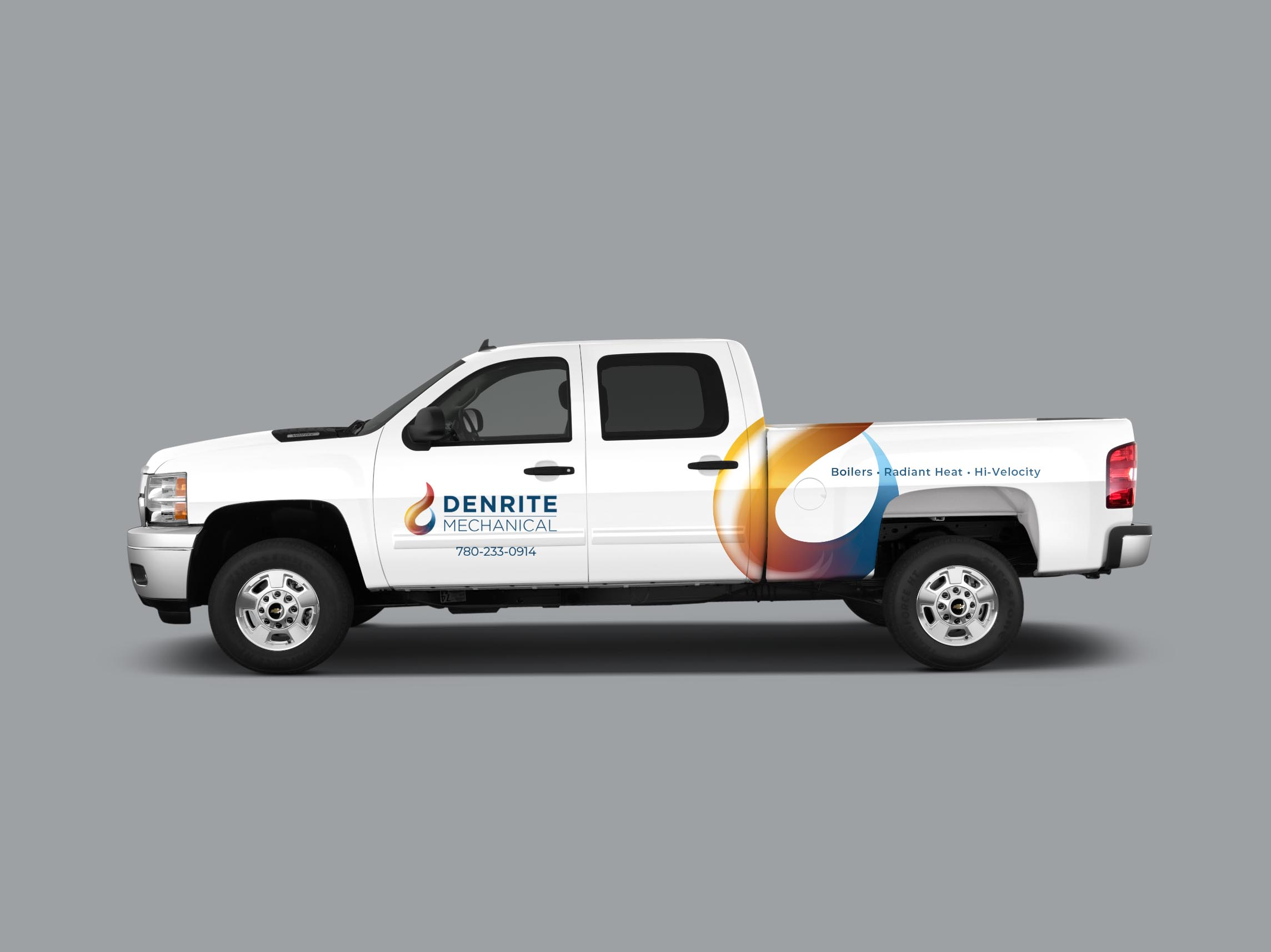 crew truck mockup design